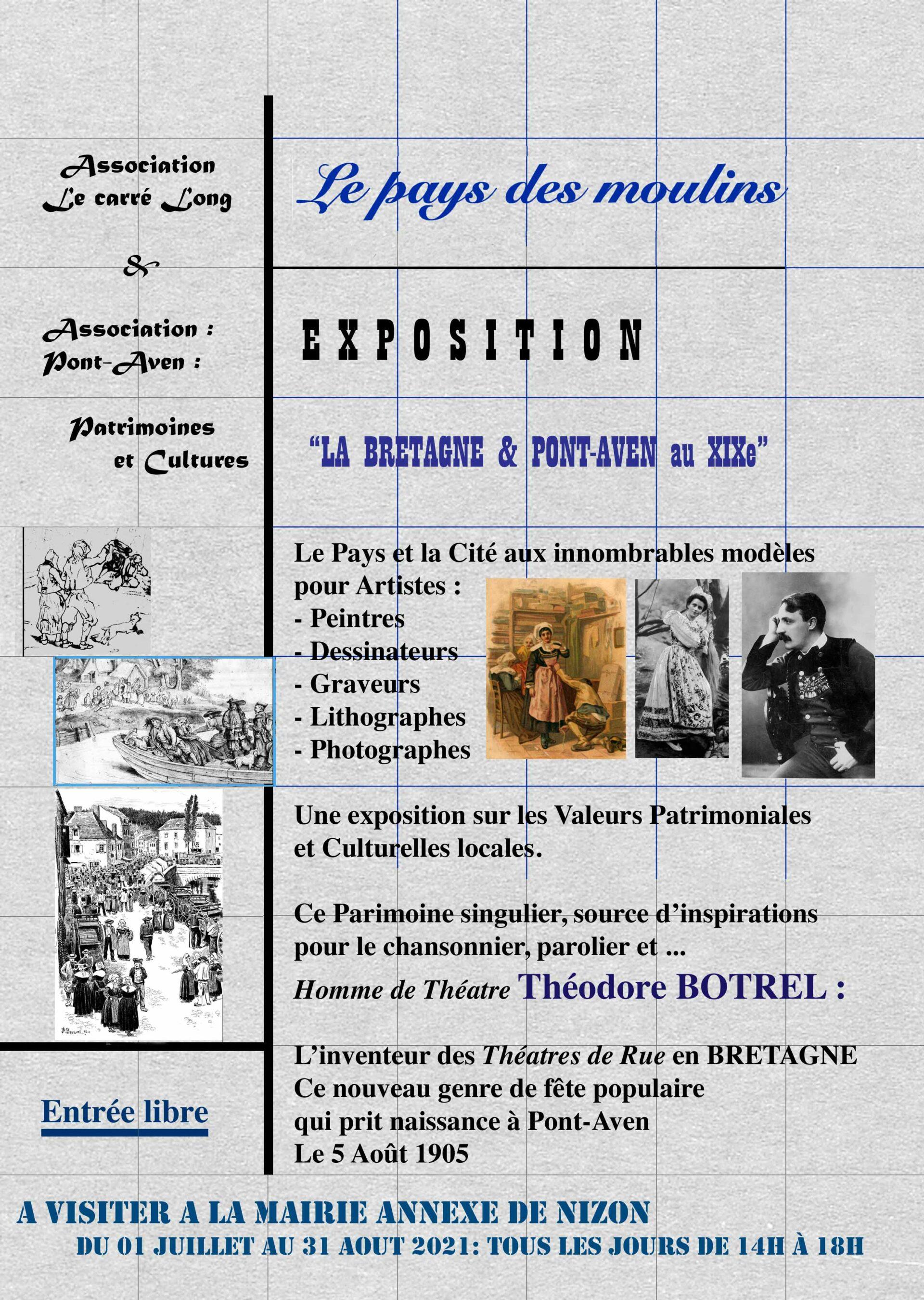 """Exposition """"La Bretagne et Pont-Aven au XIXème siècle"""""""