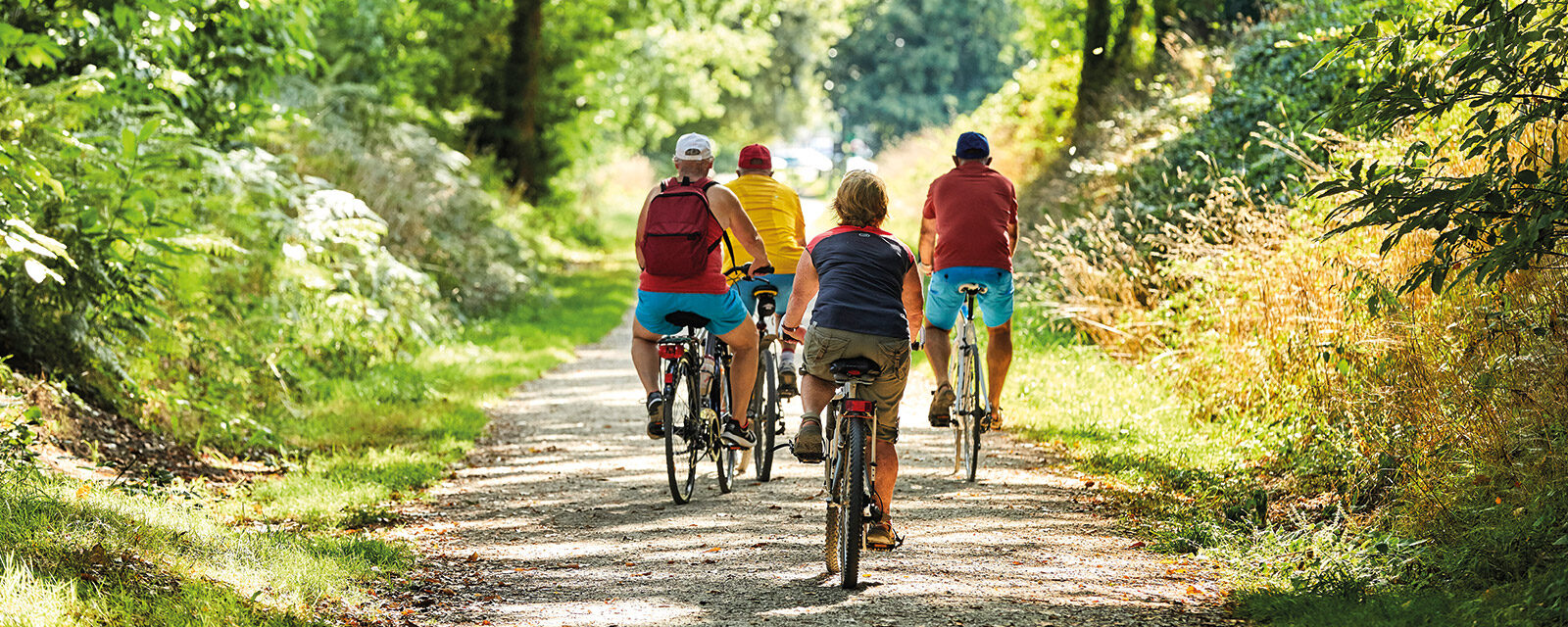 Mountain bike ride of Locjean