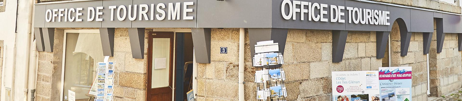 Le bureau d'information touristique de Pont-Aven