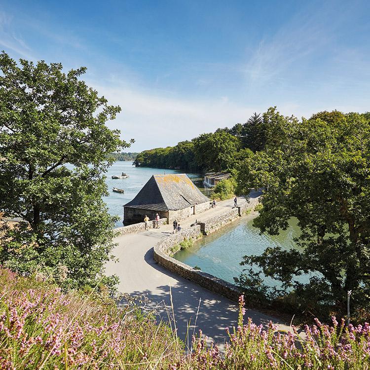 Le site du Hénan et le moulin à marée