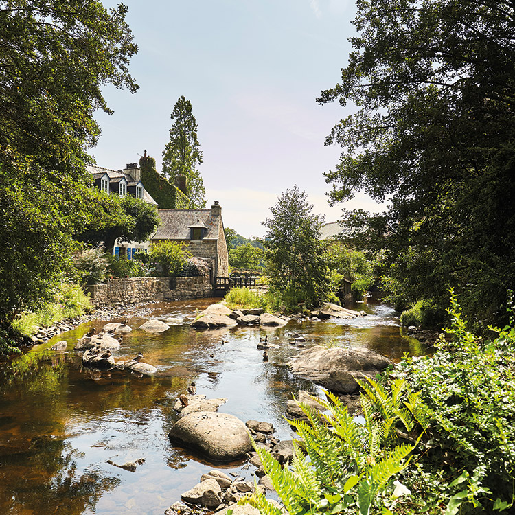 The 14 mills of Pont-Aven