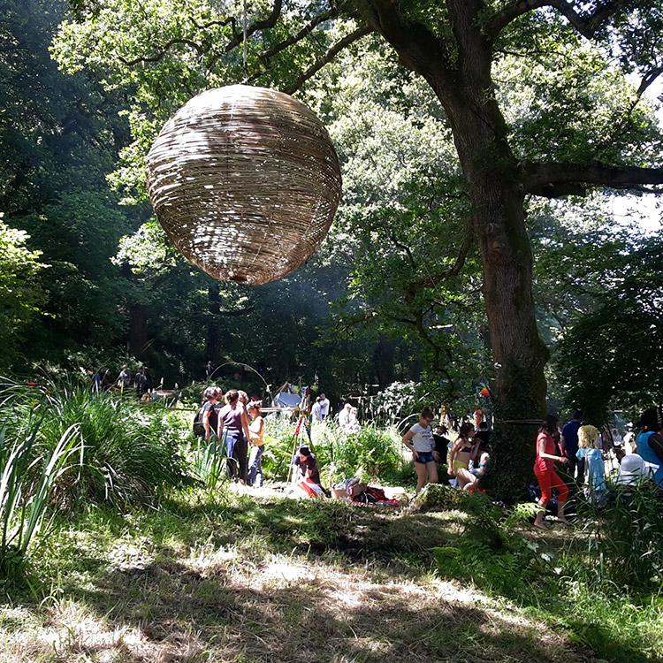 Huts Festival in Pont-Aven
