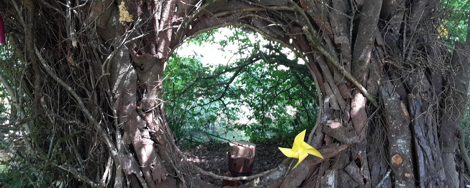 Hut or Land Art masterpiece?