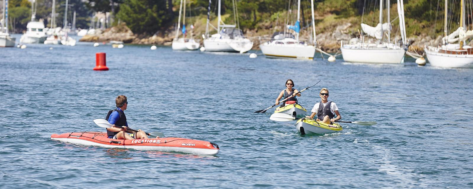 L'Aven en kayak