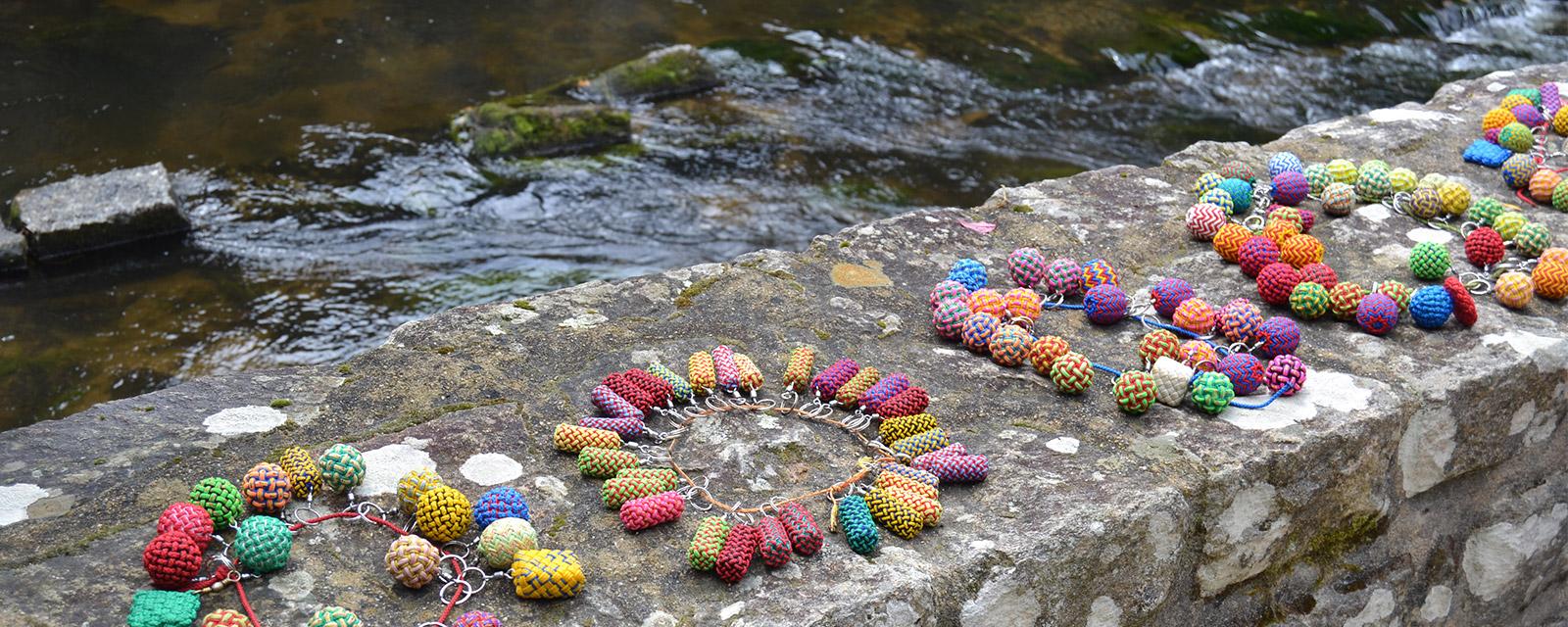 Les pommes-de-touline multicolores