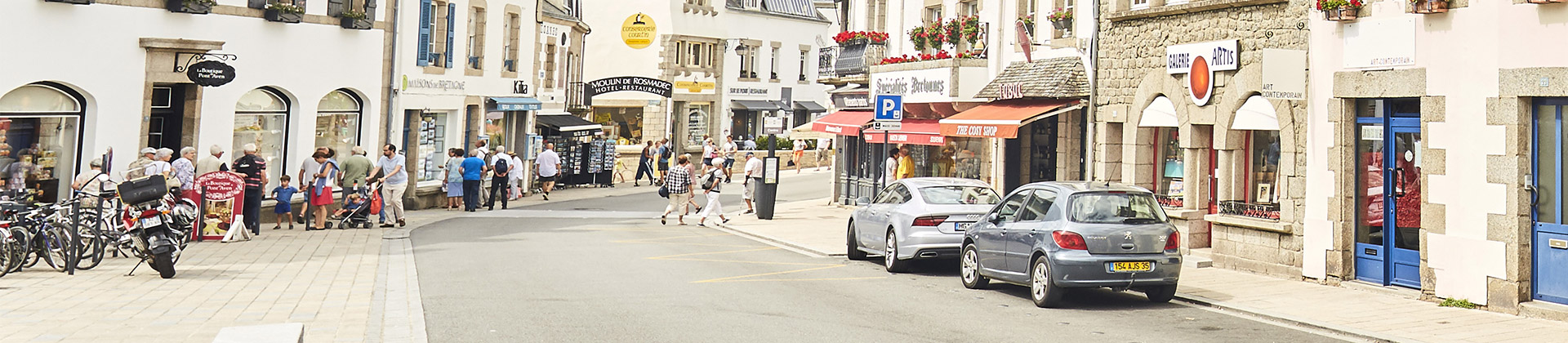 Where to park in Pont-Aven