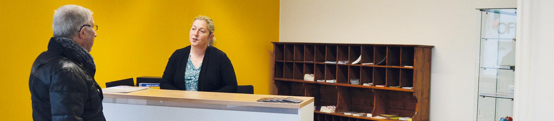 Le bureau d'information touristique de Rosporden