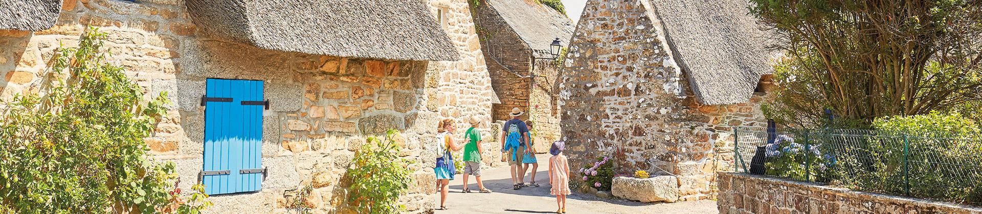 Les jolis villages de Bretagne