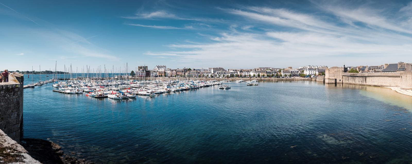 The Marina of Concarneau