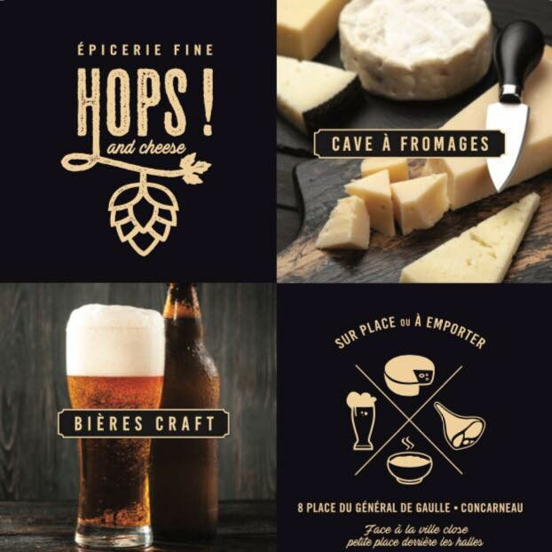 Hops and Cheese – Bières et fromages
