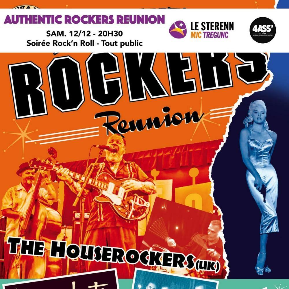 Soirée Rock'n'Roll – Authentic Rockers Reunion