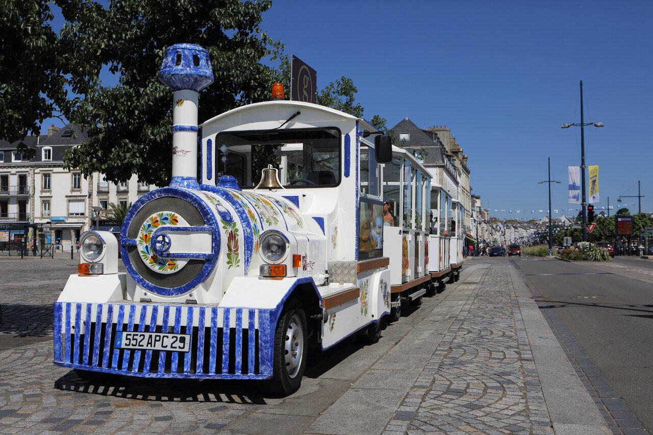 Le petit train touristique de Concarneau