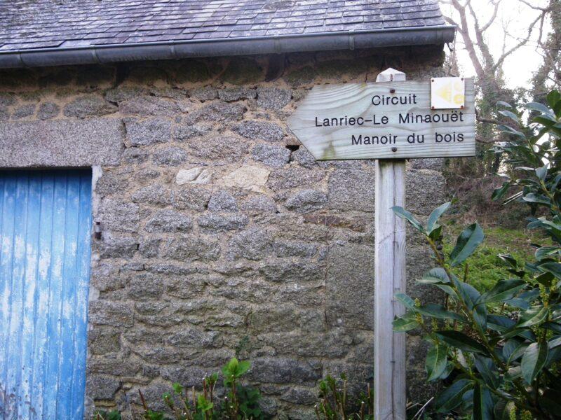 Circuit Lanriec – Le Minaouët – Manoir du bois
