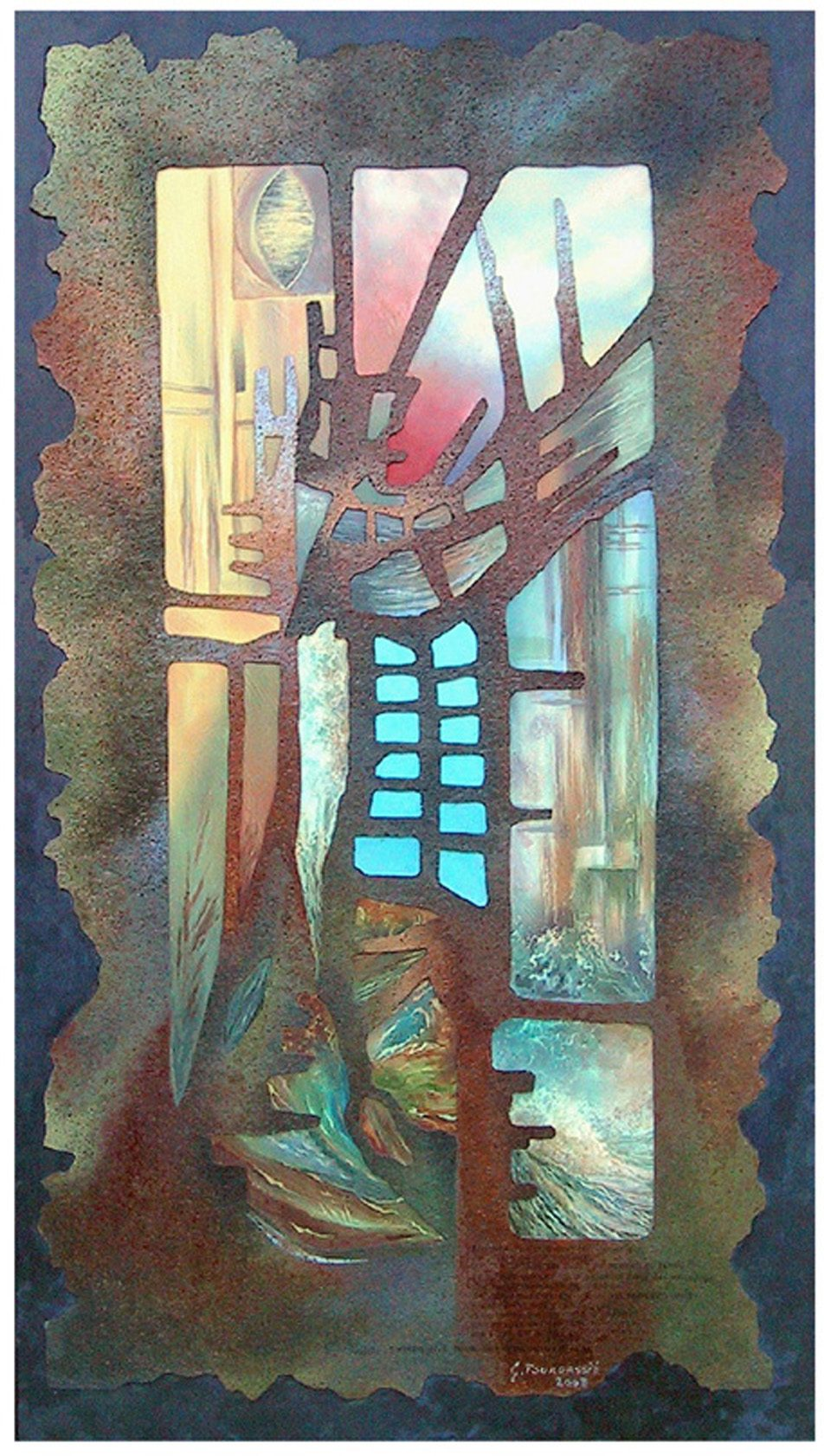 Gilles Fourgassie – Galerie L'Île D'Art