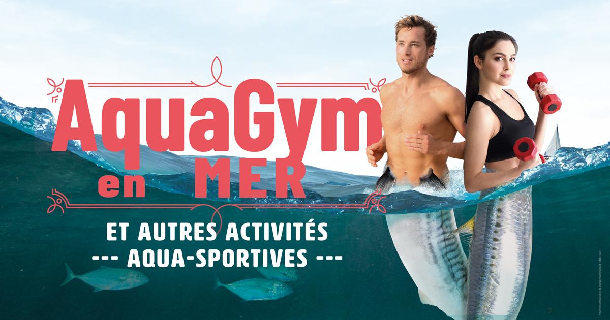 Aquaplaya – aquagym en mer