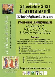 """Concert Les Préludes """"L'âge d'or de la musique russe"""""""