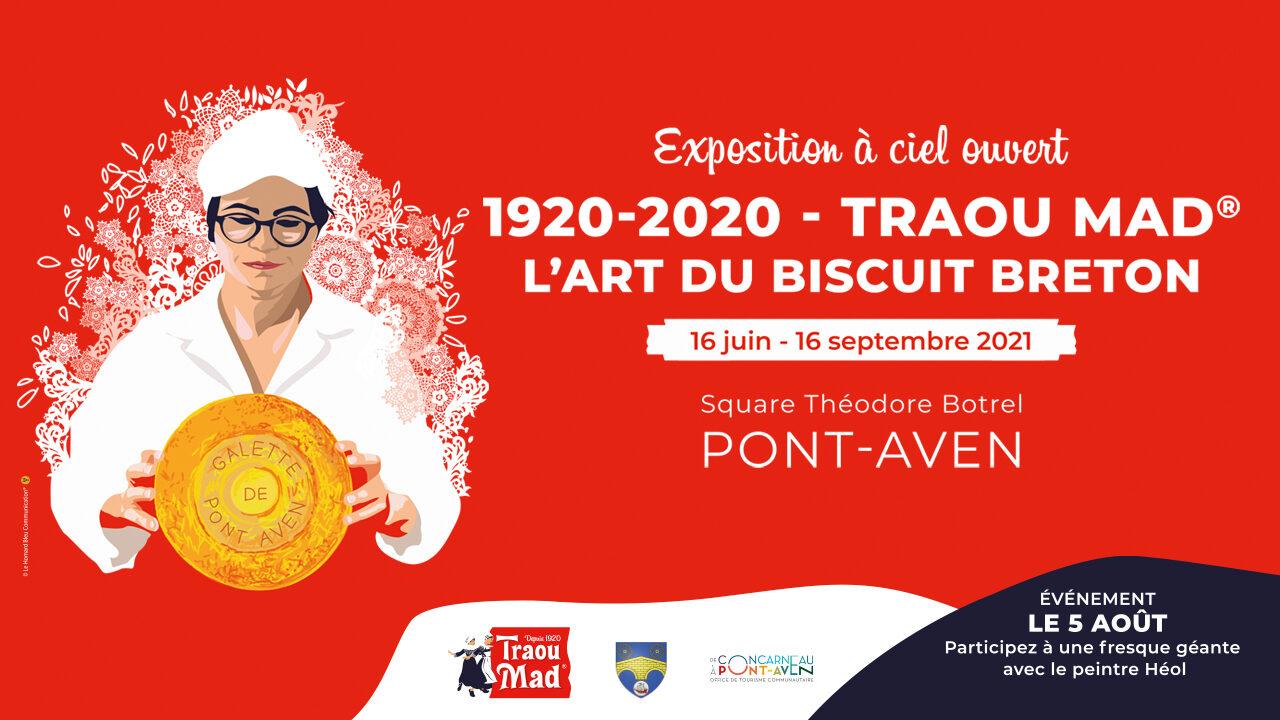 Exposition « 1920-2020 – Traou Mad®, l'art du biscuit breton »