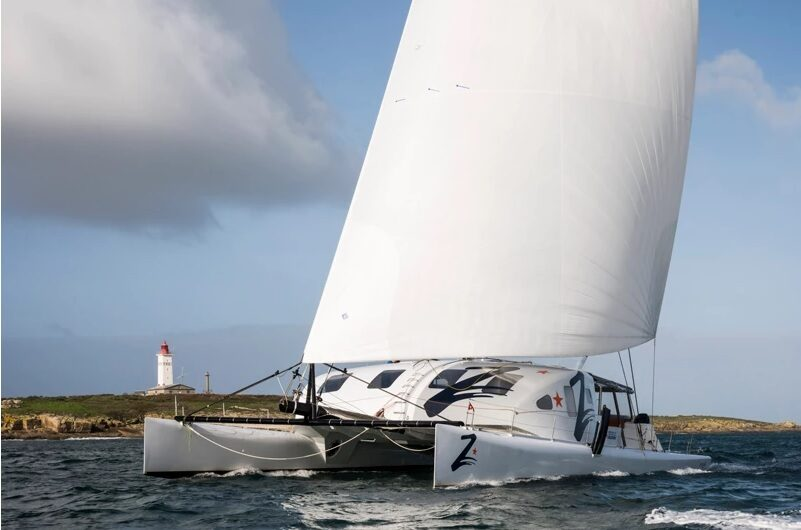 Le catamaran Z